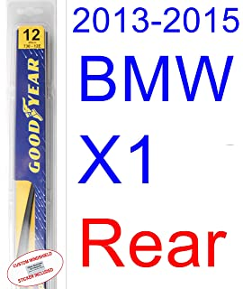 2013-2015 BMW X1 Wiper Blade (Rear) (Goodyear Wiper Blades-Hybrid