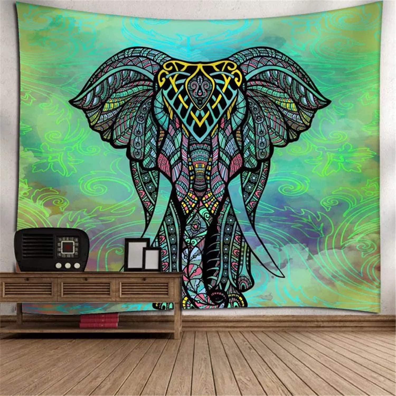 Dream Catcher Tobeffect Aesthetic Tapestry Psychedelic Wall Hanging for Bedroom Home Room Decor 51.2 x 59.1 inches