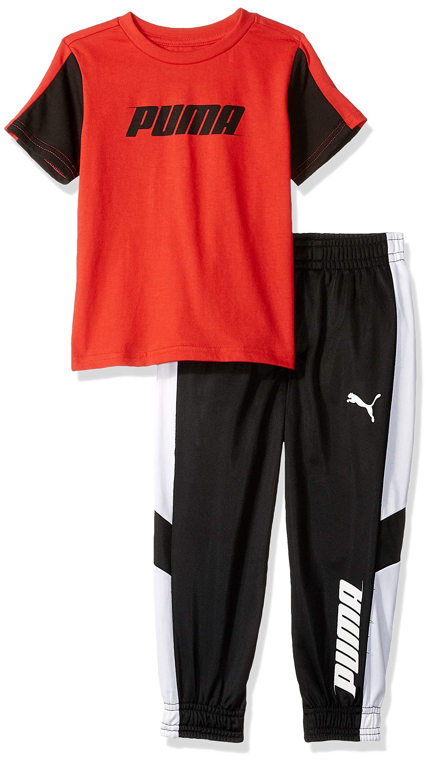 PUMA Boys' T-Shirt & Pant Set