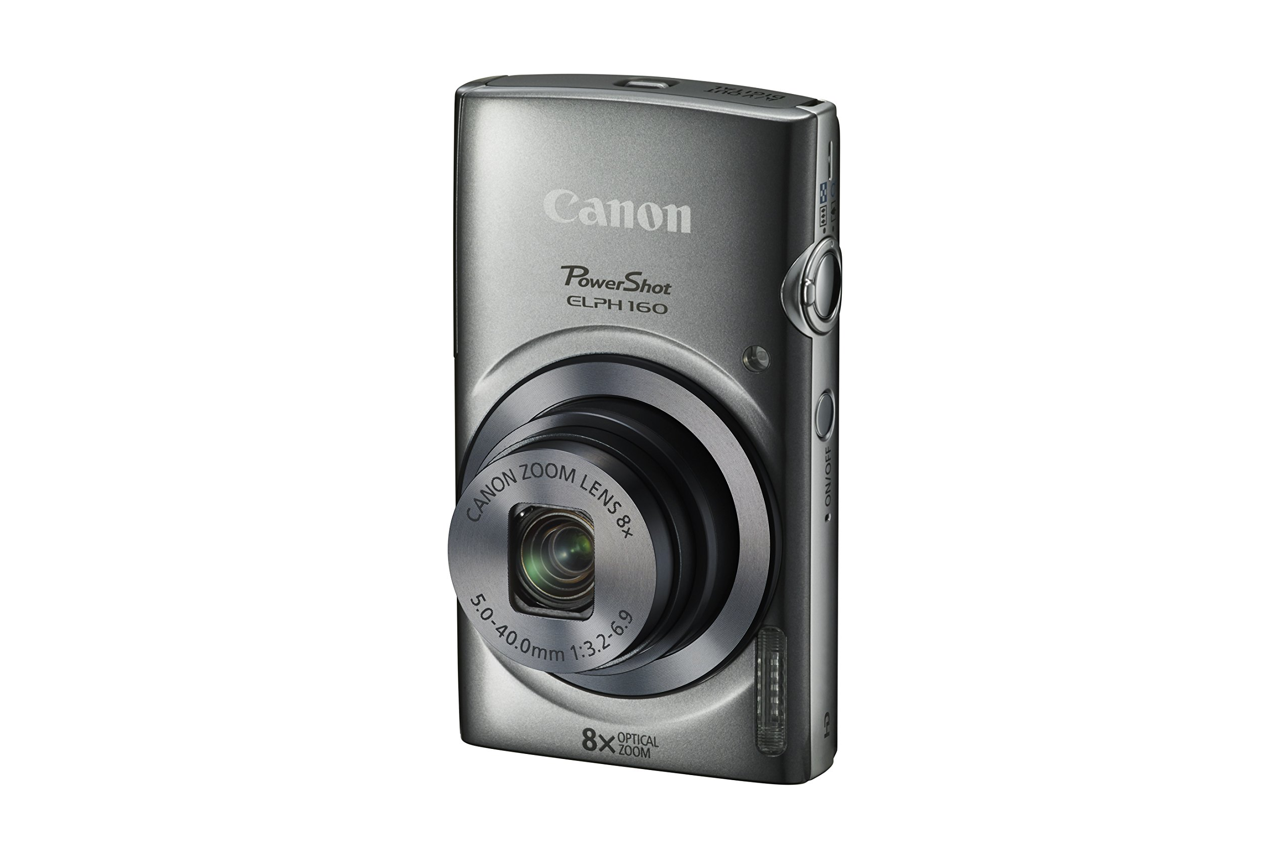 Canon PowerShot ELPH 160 (Silver) by Canon (Image #1)