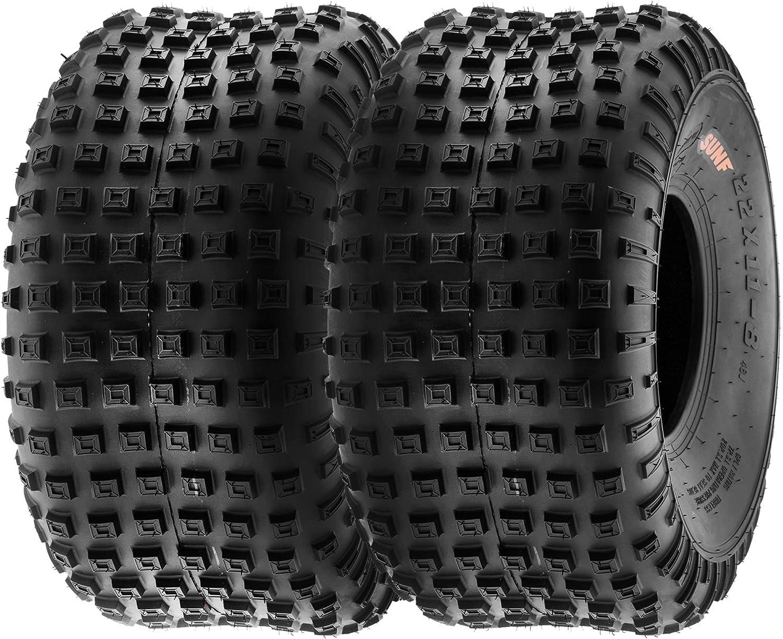 SunF A011 16x8-7 16x8x7 Quad ATV UTV Reifen All-Terrain Reifen mit Stra/ßenzulassung 6PR TL 20F E Pr/üfzeichen Pfad Ersatzreifen ein St/ück