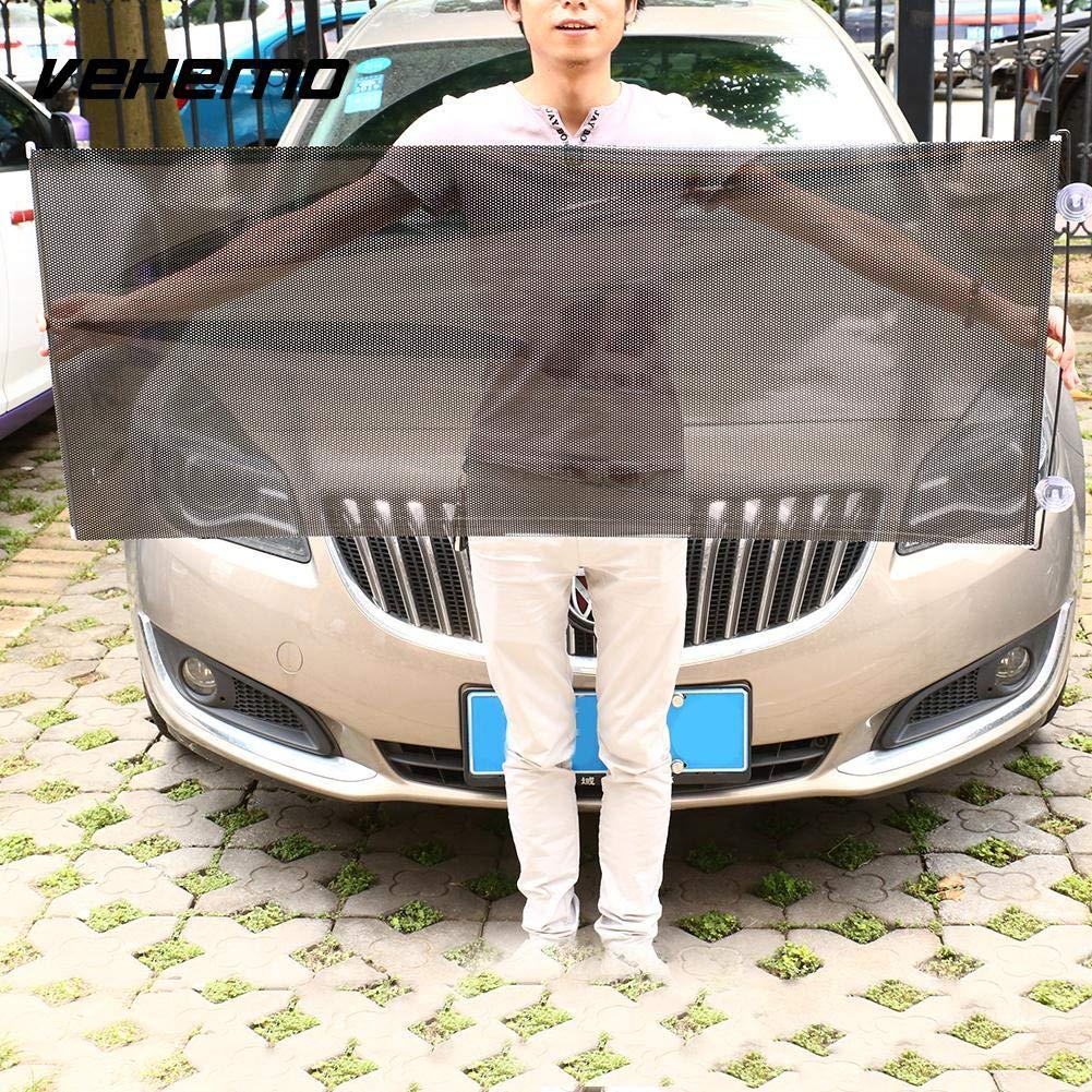 SaveStore 135 x 58cm Retractable Anti UV Sun Shade Windshield Protect Cover Auto Window Car Windshield Visor Sun Shade