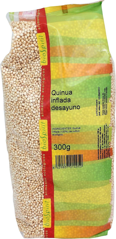Biospirit Quinoa inflada Desayuno, 300 g: Amazon.es: Hogar