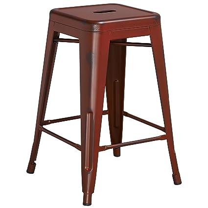 Phenomenal Amazon Com Trent Austin Design Lompoc 24 Distressed Metal Pdpeps Interior Chair Design Pdpepsorg