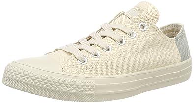 e9371077e4 Converse Unisex-Erwachsene Chuck Taylor All Star OX Sneaker beige, 39 EU