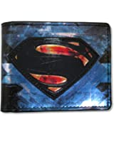 "Bioworld Superman ""Man of Steel Blue"" Bifold Wallet"