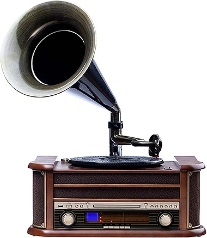 Nostalgie Retro Tocadiscos | equipo estéreo | Cadena Musical ...