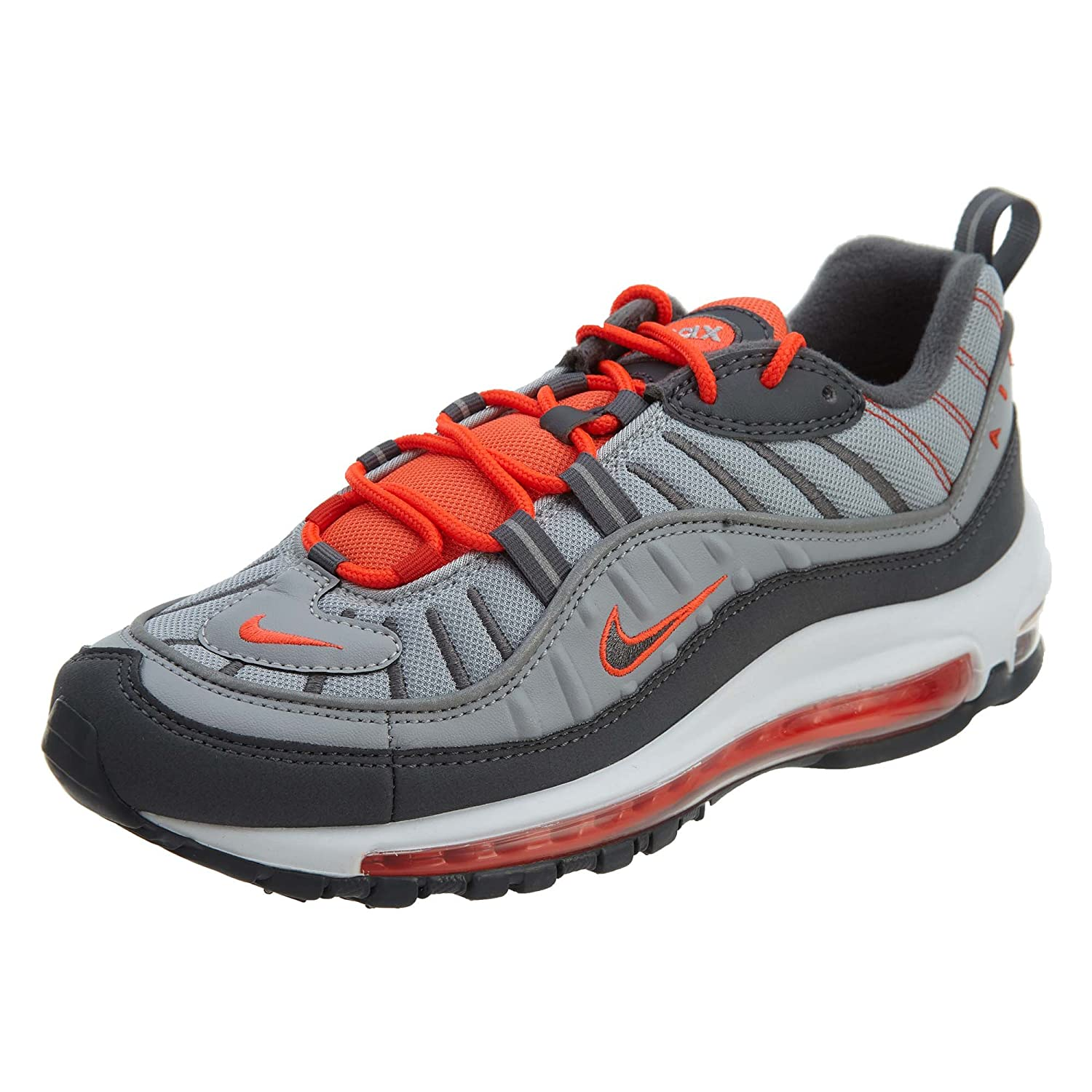 another chance 2cb78 1ee8c NIKE Air Max 98 Grey Men Trainers Sneaker Shoes  Amazon.co.uk  Shoes   Bags