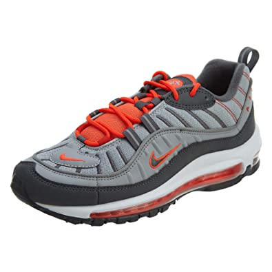 separation shoes 9c31c aa91f NIKE Men's Air Max 98 Shoe Wolf Grey/Total Crimson
