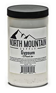 North Mountain Supply Food Grade Calcium Sulfate (Gypsum) (1.5 Pounds)