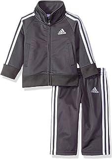 Adidas Baby Boys Tricot Zip Jacket and Pant Set