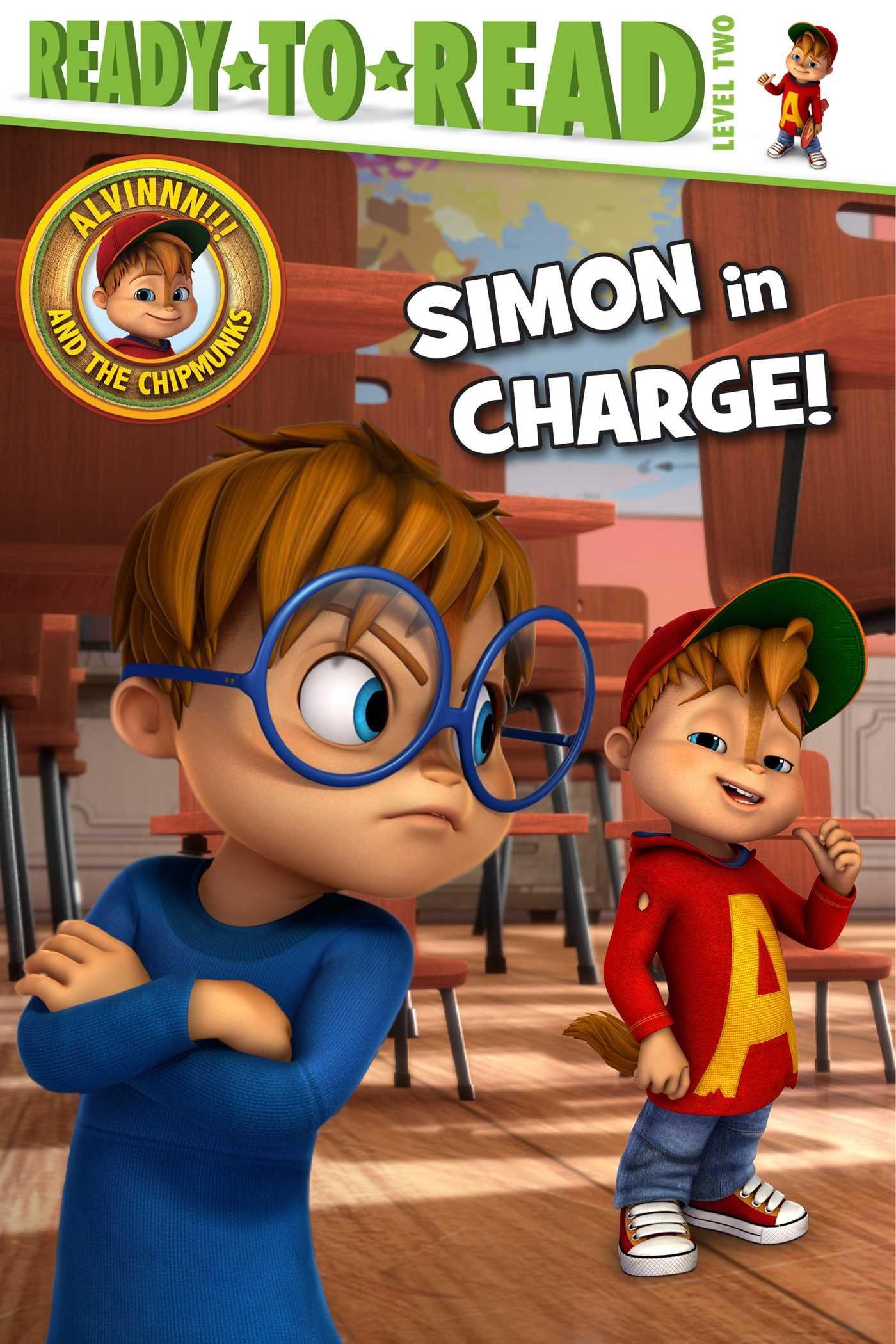 Simon In Charge Alvinnn And The Chipmunks Forte Lauren 9781534416291 Amazon Com Books