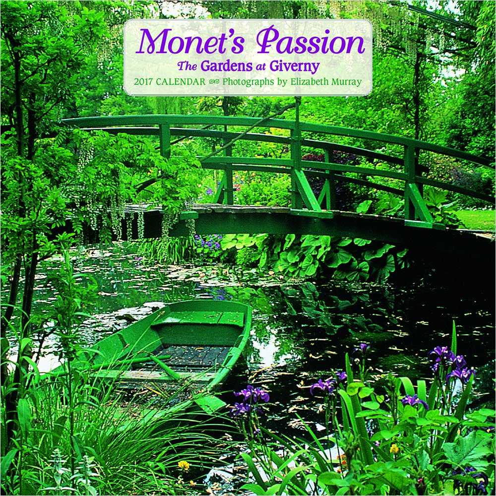 2017 Monets Passion: The Gardens at Giverny Mini Wall Calendar