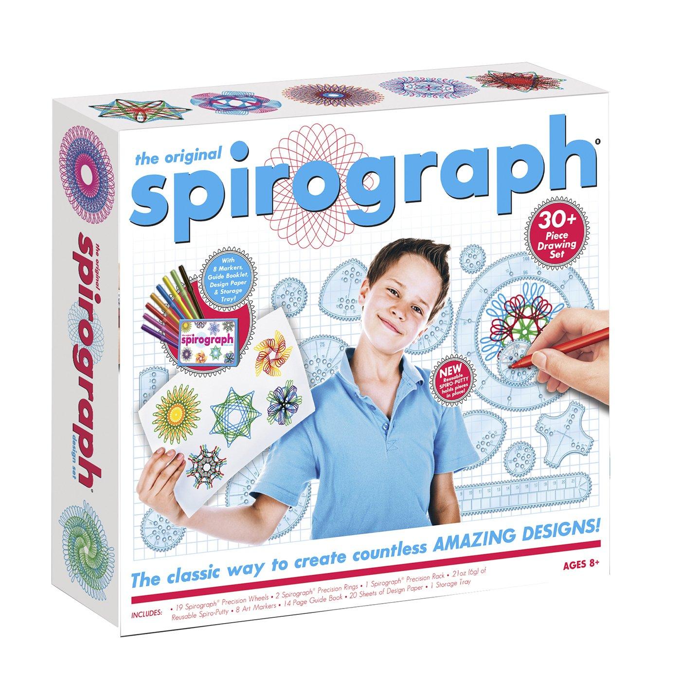 Spirograph Kit 30/ avec marqueurs Fabrique de jouets 41235.0