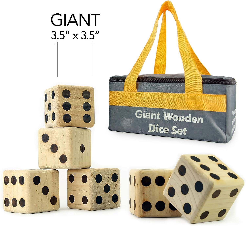 Hammer Crown Giant Dice; Wood Burned by Hammer Crown: Amazon.es: Juguetes y juegos