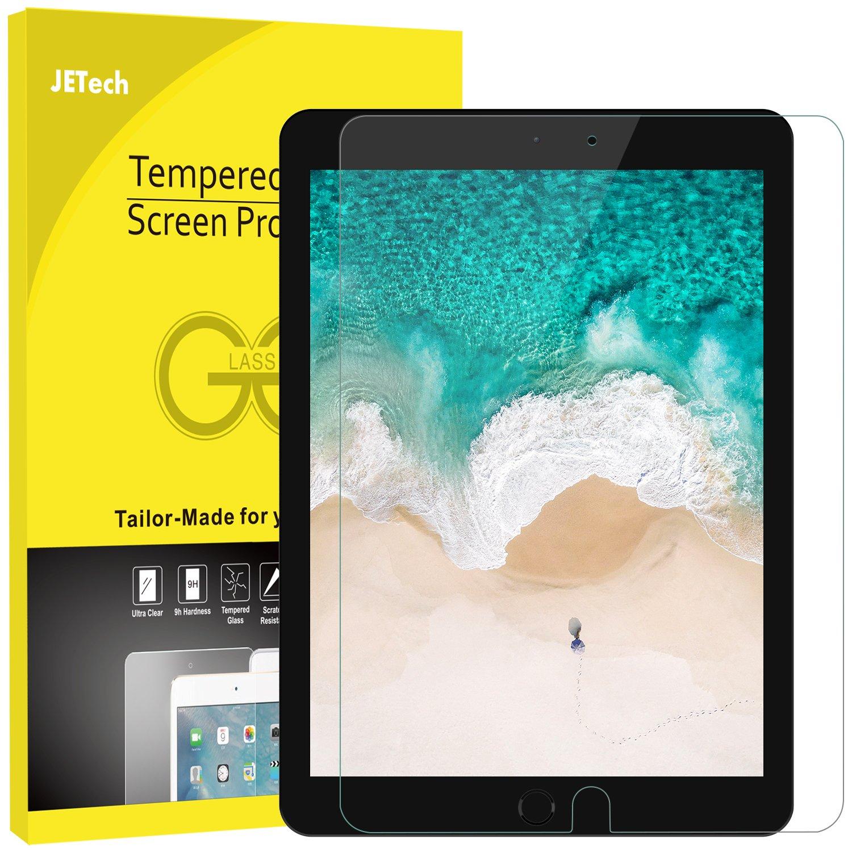 JETech Protector de Pantalla para iPad Pro 10,5 Vidrio Templado ...