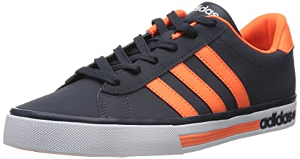 huge discount 8251d 3a3fe adidas Neo Daily Team Zapatillas Sneakers Azul Naranja para Hombre