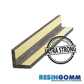 Protección de alta densidad para ángulos, 100 cm de altura, para esquinas de columnas