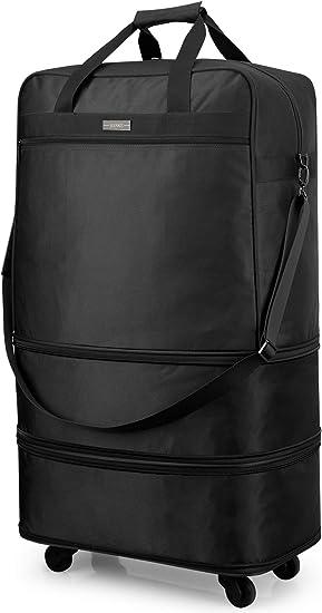 Travel Duffel Bag Waterproof Lightweight Large Capacity Luggage Bag Hockey Game Portable Handbag For Travel Camping Sport White