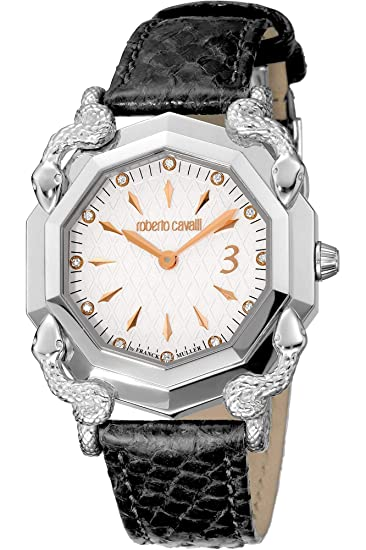70be265f87ec Roberto Cavalli RV3L001L0011 it Reloj de Pulsera para Mujer  Amazon.es   Relojes