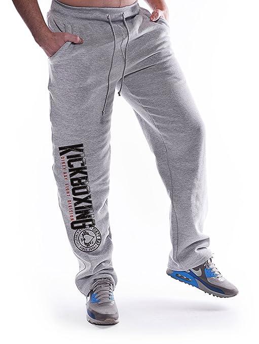 Dirty Ray Kickboxing Division pantalón de chándal hombre SDKB1 ...