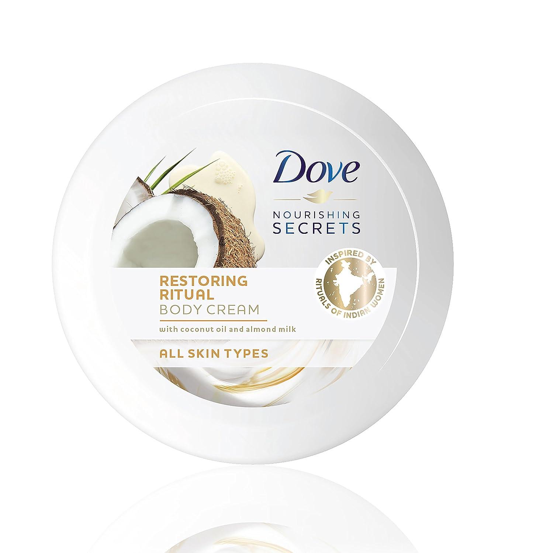 Dove Aceite de Coco y Leche de Almendras Loción 400 ml - [Pack de 2]: Amazon.es: Belleza