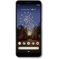 Google - Pixel 3a with 64GB Memory Cell Phone (Unlocked) - Clearly White