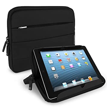 CELLONIC® 10.1-Inch Funda Tablet Universal Negro Nylon – Protectora de Tablet con Burbujas Anti-Golpes, alcohonadas, Resistente al Agua, Resistente a ...