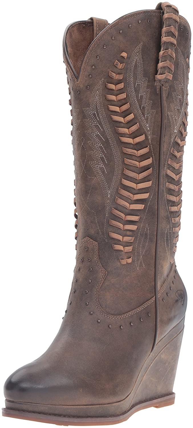 Ariat Women's Nashville Western Fashion Boot B01BPW9L38 8.5 B(M) US|Dark Chocolate