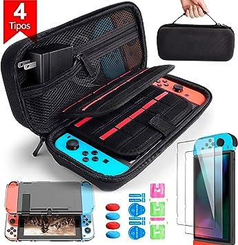 BANGTING 14 en 1 Kit de Accesorios Compatible con Nintendo Switch ...