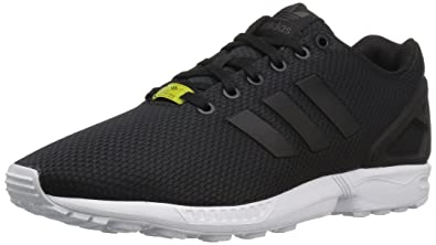 adidas Originals Zx Flux, Baskets mode homme, Noir (Black /Black /White