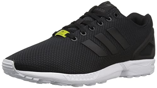 size 40 2f2aa 7e1d4 Adidas ZX Flux, Men Low-Top Sneakers, Black (BlackBlack