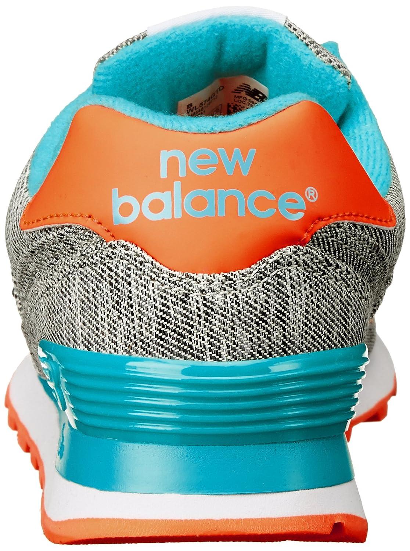 new balance turquesa y naranja