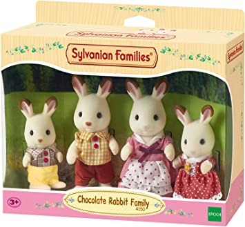 Sylvanian Families Chocolate Coniglio Padre Set