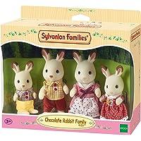 Sylvanian Families Chocolate Rabbit Family,Figure