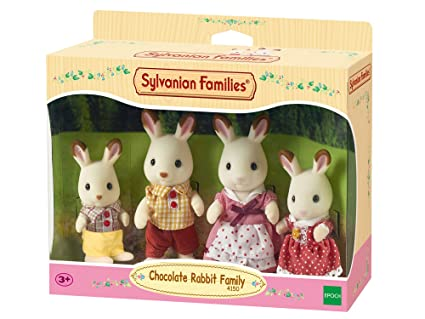 1epoch Para 4150 6 Families Chocolate20 Conejos 17 0 6 X Imaginar Familia Sylvanian shdCtrxQ