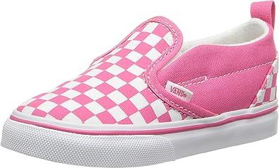 Vans Girls' Checkerboard Slip-On V (Tod