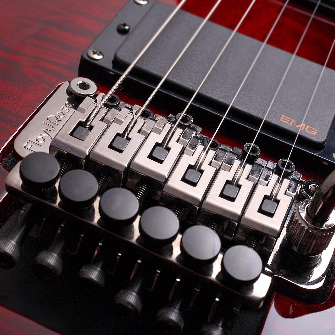 schecter hellraiser c 1 fr electric guitar black