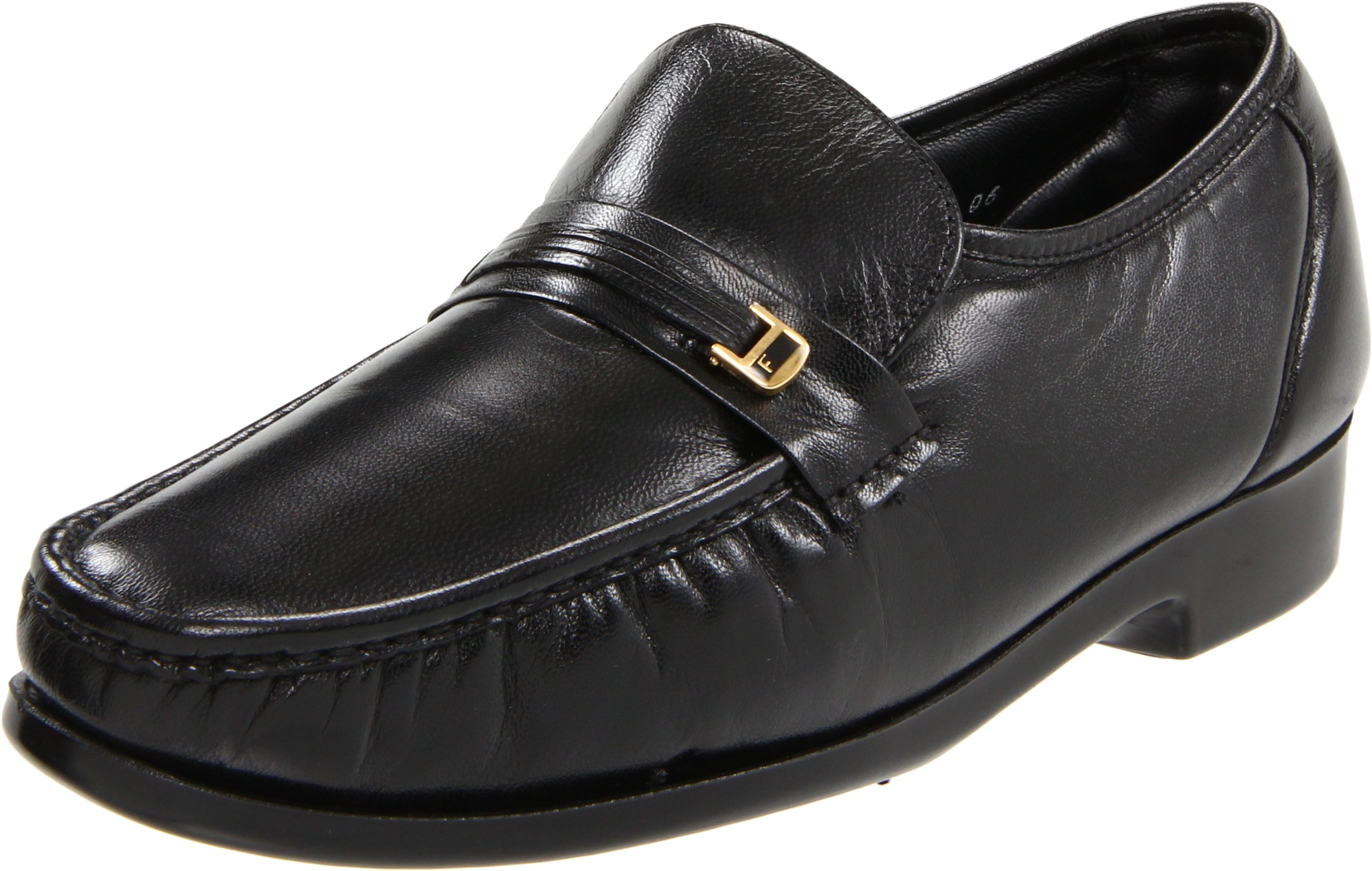 Florsheim Men's Riva Black Nappa Kid Loafer 9 E by Florsheim
