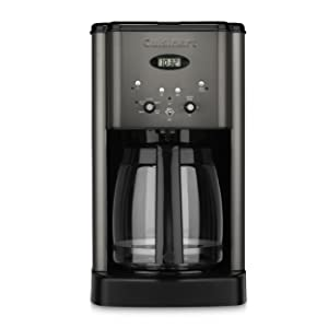 Cuisinart DCC-1200BKS 12 Cup Brew Central Coffee Maker Black Stainless Steel