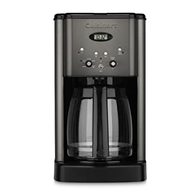 Cuisinart DCC-1200BKS 12 Cup Brew Central Coffee Maker, Black Stainless Steel