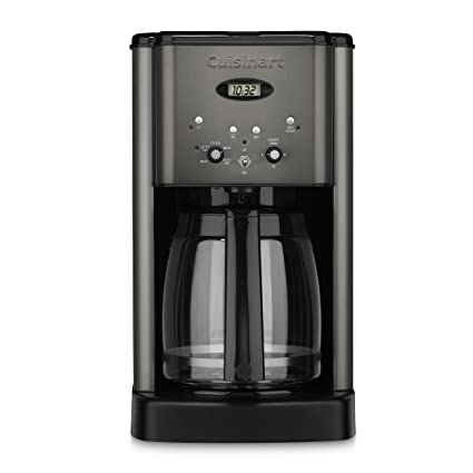 .com: cuisinart dcc-1200bks brew central coffee maker, 12 cup ...