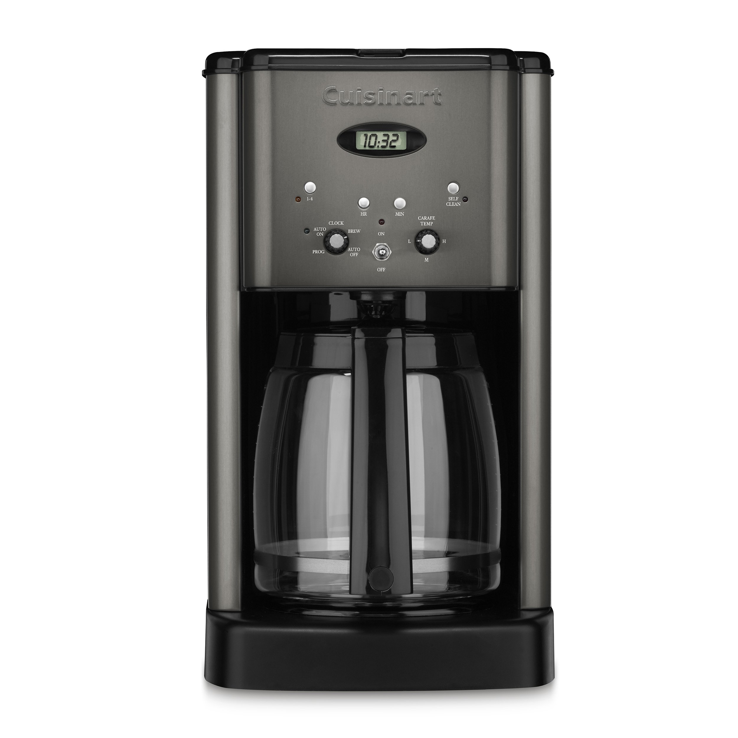 Cuisinart DCC-1200BKS Brew Central Coffee Maker, Black Stainless