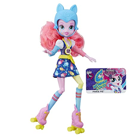 amazon com my little pony equestria girls pinkie pie sporty style