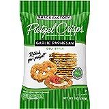 Snack Factory Pretzel Crisps Garlic Parmesan On-the-Go Bag, 3 Oz (Pack of 8)