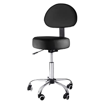 Sivan Health and Fitness Pneumatic Rolling Adjustable Medical/Massage Stool with Removable Backrest Black  sc 1 st  Amazon.com & Amazon.com: Sivan Health and Fitness Pneumatic Rolling Adjustable ... islam-shia.org