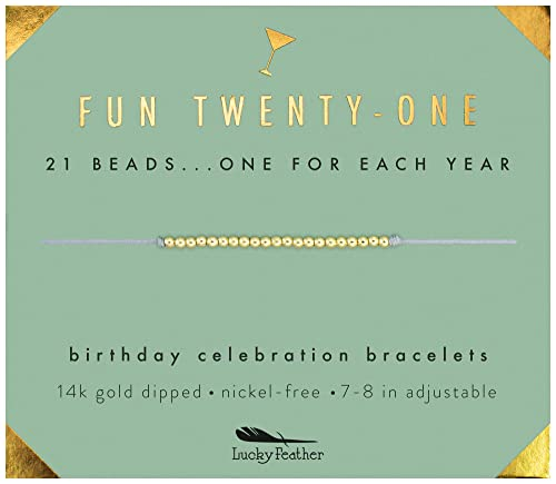 Amazon Lucky Feather 21st Birthday Gifts For Her