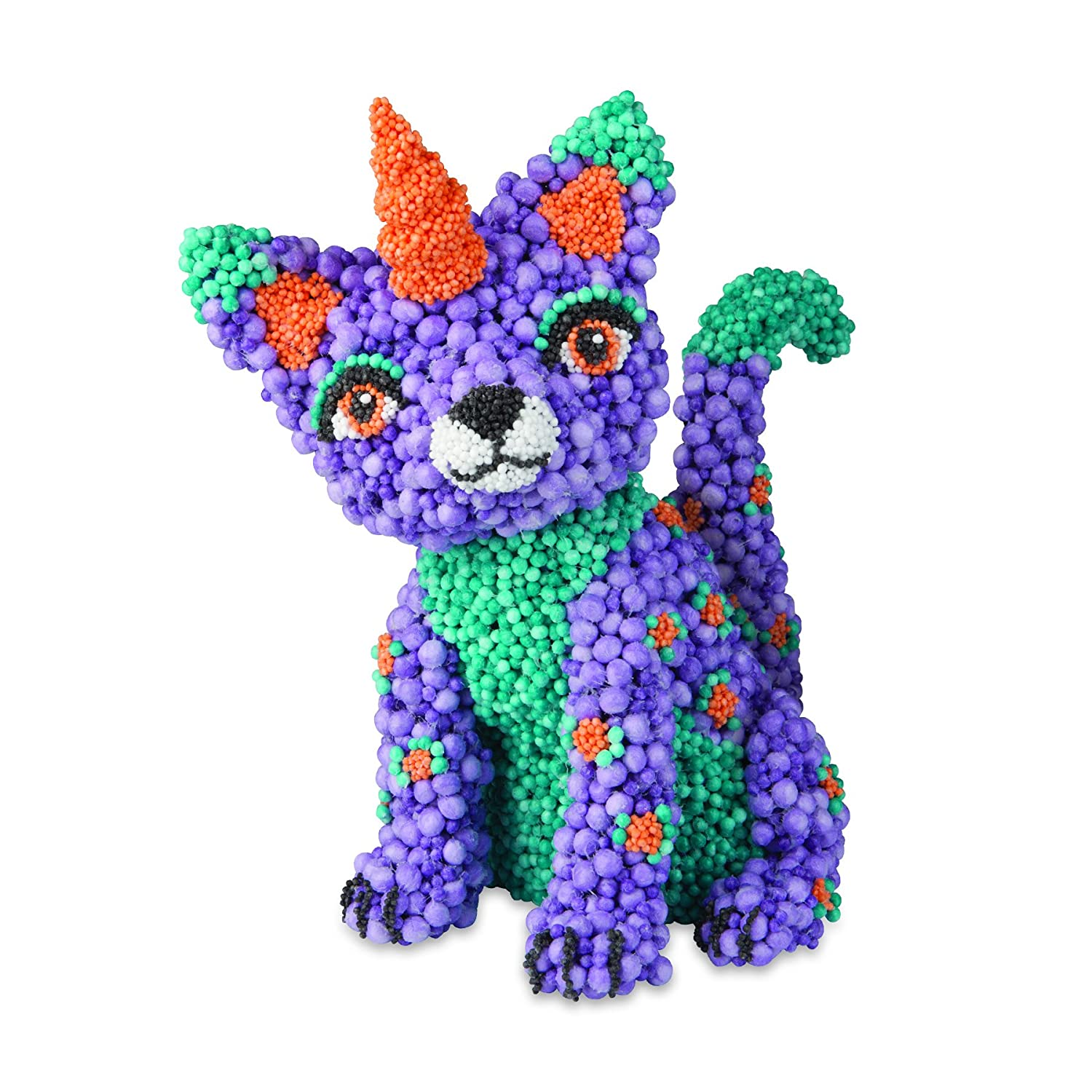 The Orb Factory Orbmolecules Caticorn Never Dries Compound 9.44 x 3.44 x 8.44 Packaging May Vary 9.44 x 3.44 x 8.44 Packaging May Vary 78959 Purple//Aqua//Orange