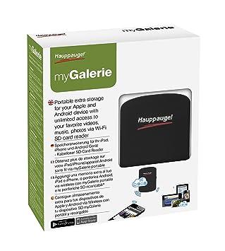 Hauppauge myGallerie - Almacenamiento adicional, compatible con Apple/Android: Hauppauge: Amazon.es: Electrónica