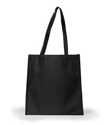 Amazon.com: UltraClub 8801 Basic Tote Bag - Black: Clothing